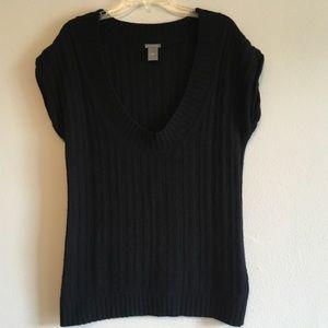 Ann Taylor Wool Cashmere Angora Hair Woven Sweater
